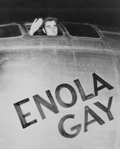 enola gay Tibbets-wave